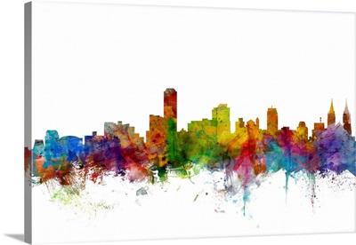 Adelaide Australia Skyline