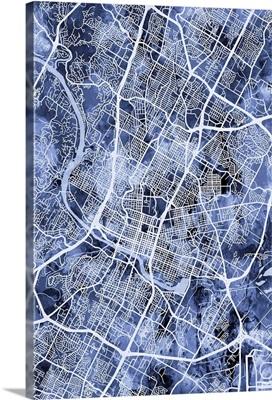 Austin Texas City Map