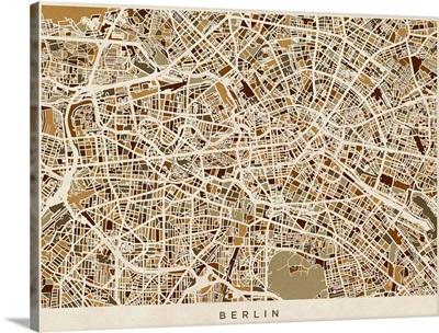 Berlin Germany Street Map