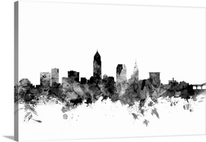 Cleveland Wall Art Canvas Prints Cleveland Panoramic Photos Posters Photography Wall Art Framed Prints Amp More Great Big Canvas