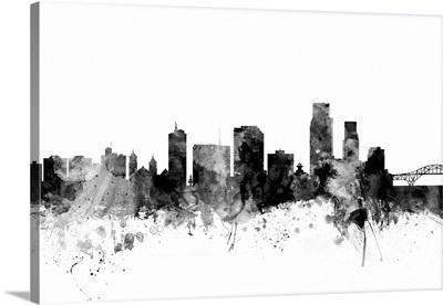 Corpus Christie Texas Skyline
