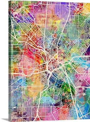 Dallas Texas City Map