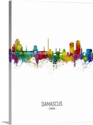 Damascus Syria Skyline