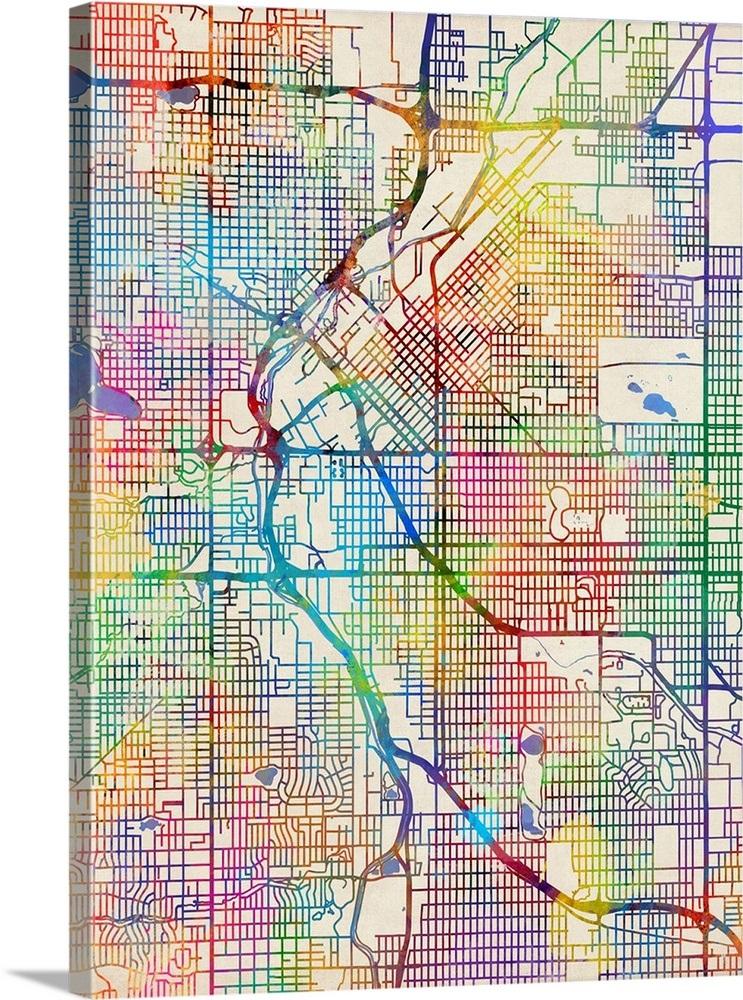 Denver Colorado Maps on