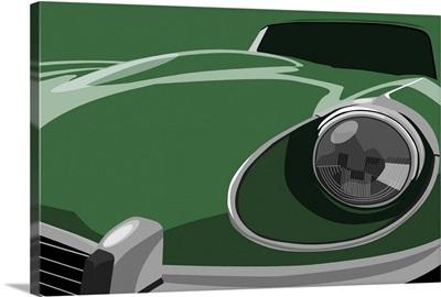 Jaguar E-Type Pop Art