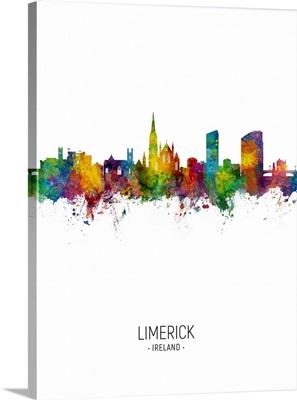 Limerick Ireland Skyline