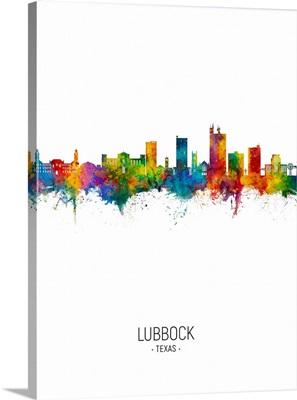 Lubbock Texas Skyline