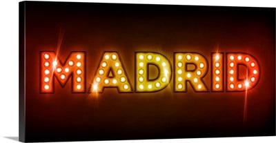Madrid in Lights