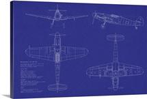Messerschmitt ME109 blueprint