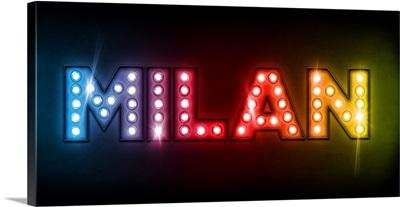 Milan in Lights
