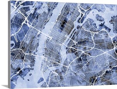 New York City Street Map
