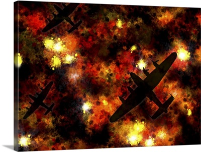 Night Raid - Lancaster Bomber