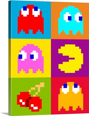 PacMan Squares