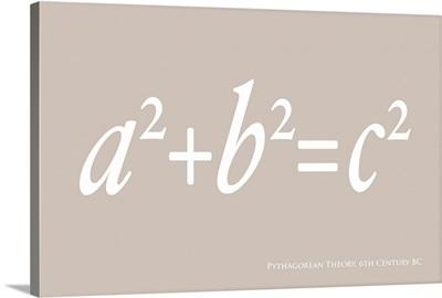 Pythagoras Maths Equation