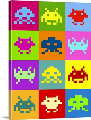 Space Invaders Squares