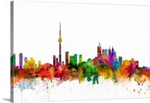Toronto Canada Skyline