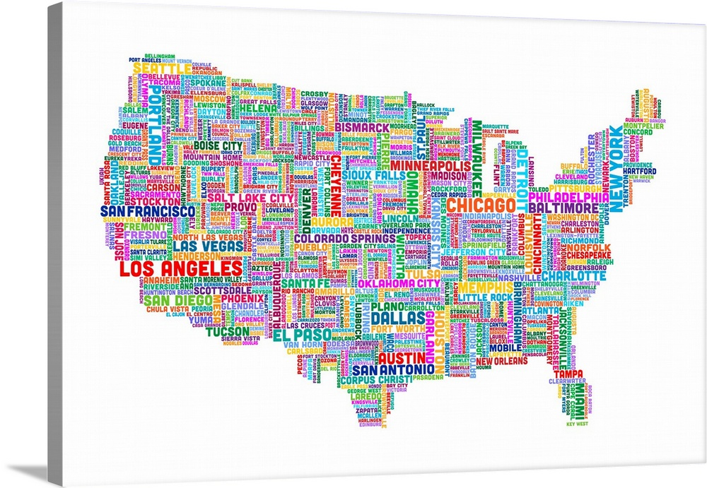 Cities In USA Cities Map Of USA US Cities List US Major Cities