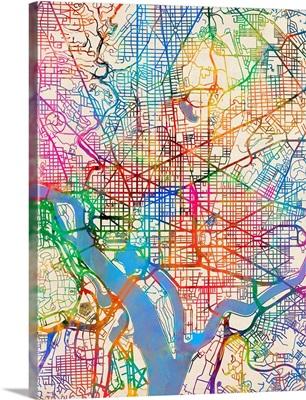 Washington DC Street Map