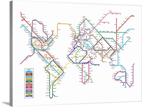 World Tube Metro Map
