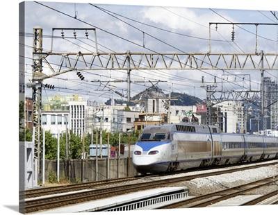 High Speed train, Seoul, Korea