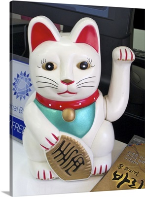 Lucky cat, Seoul, Korea
