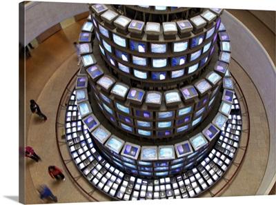 Tower of Televisions, nam june paik, Seoul, South Korea