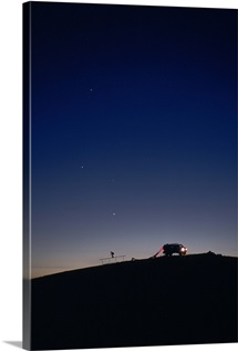 Night Ride in Utah Desert