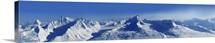 Valdez, Alaska, mountain panorama