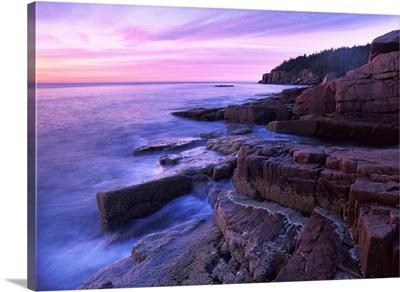Atlantic coast near Thunder Hole, Acadia National Park, Maine