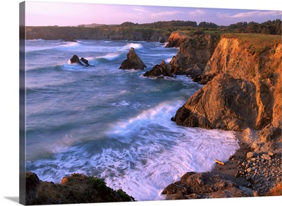 Beach at Jughandle State Reserve, Mendocino County, California