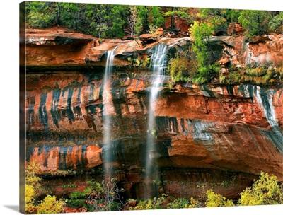 Cascades at Emerald Pools, Zion National Park, Utah