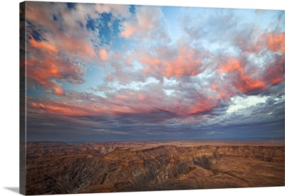 Desert canyon, Fish River Canyon, Namibia