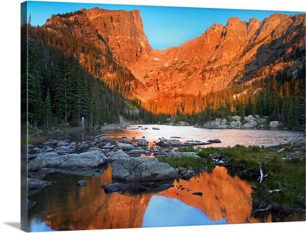 Dream Lake Rocky Mountain National Park Colorado Wall Art Canvas Prints Framed Prints Wall Peels Great Big Canvas