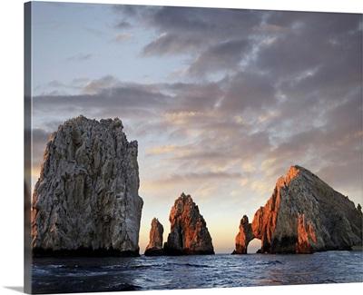 El Arco and sea stacks, Cabo San Lucas, Mexico