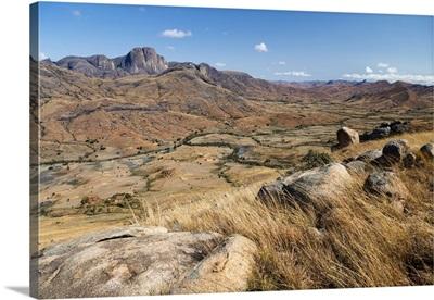 Grassland, Tsaranoro Valley, southern Madagascar