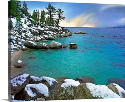 Hidden Beach and Memorial Point, Lake Tahoe, Nevada