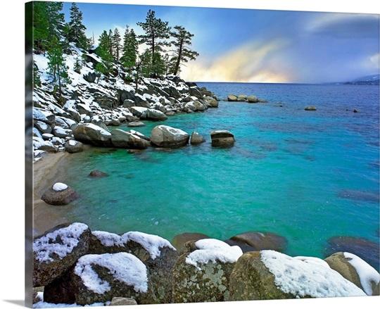 Hidden Beach And Memorial Point Lake Tahoe Nevada