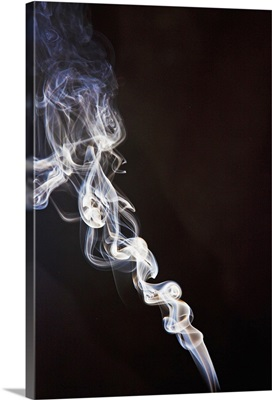 Incense smoke rising, New Zealand