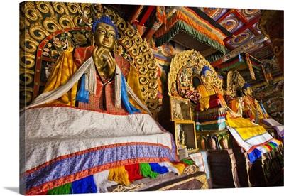 Kassapa, Shakymuni, and Maitreya Buddhas, Erdene Zuu Monastery, Mongolia