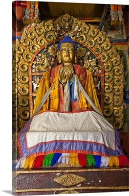 Maitreya Buddha, Erdene Zuu Monastery, Mongolia
