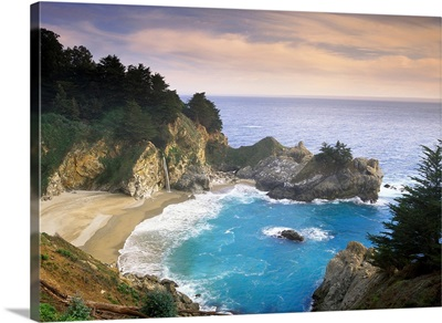 McWay Cove and McWay Falls Julia Pfieffer Burns State Park California