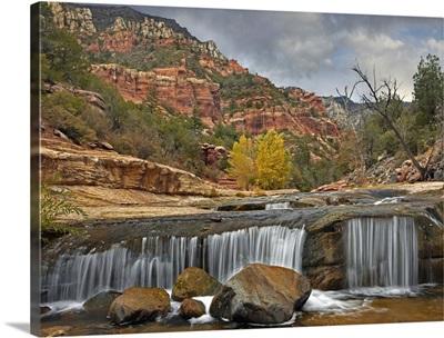 Oak Creek in Slide Rock State Park near Sedona, Arizona
