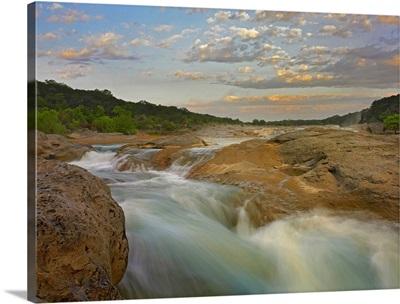 River in Pedernales Falls State Park, Texas