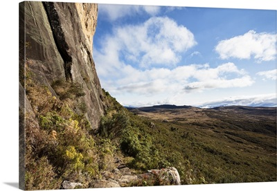 Rock cliff, Andringitra National Park, southern Madagascar