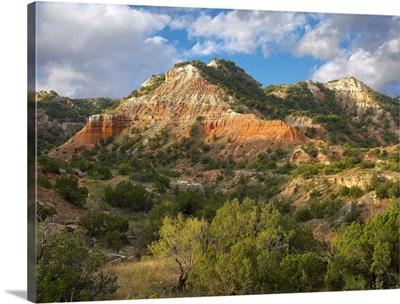 Sandstone mountains, Palo Duro Canyon State Park, Texas