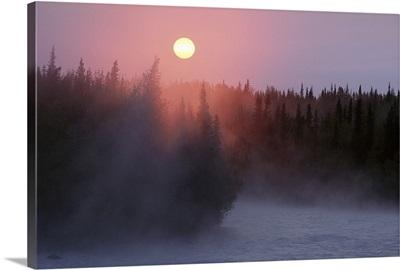 Sunrise over Kasilof River, Kasilof, Alaska