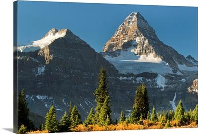 Tundra and Mount Assiniboine, British Columbia, Canada