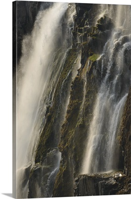 Victoria Falls during the dry season, Zambia