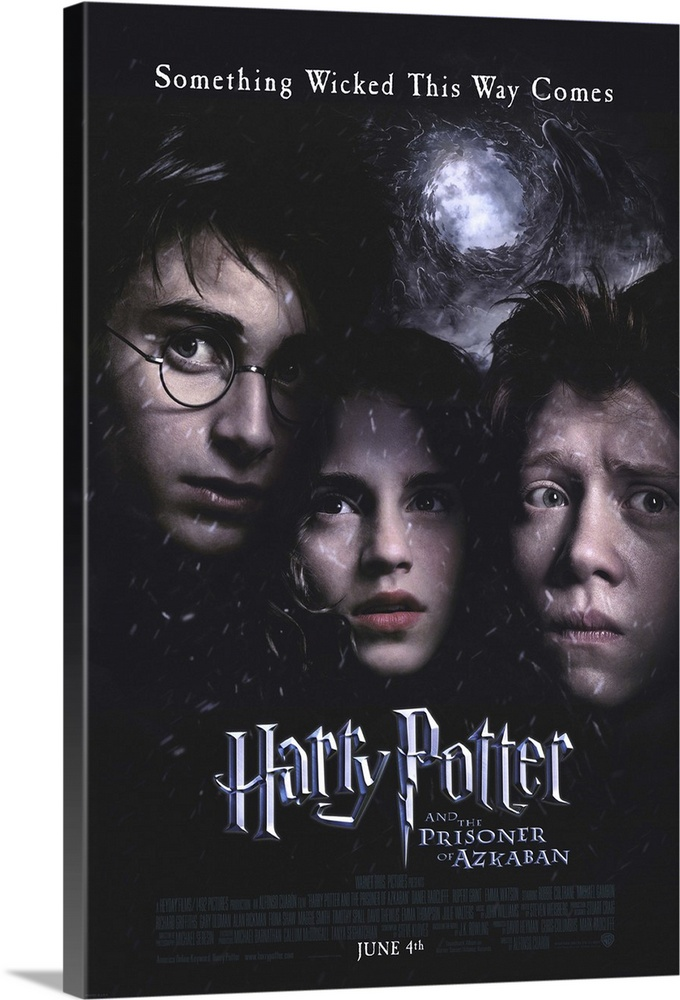 Harry Potter And The Prisoner Of Azkaban 2004 Wall Art Canvas Prints Framed Prints Wall Peels Great Big Canvas