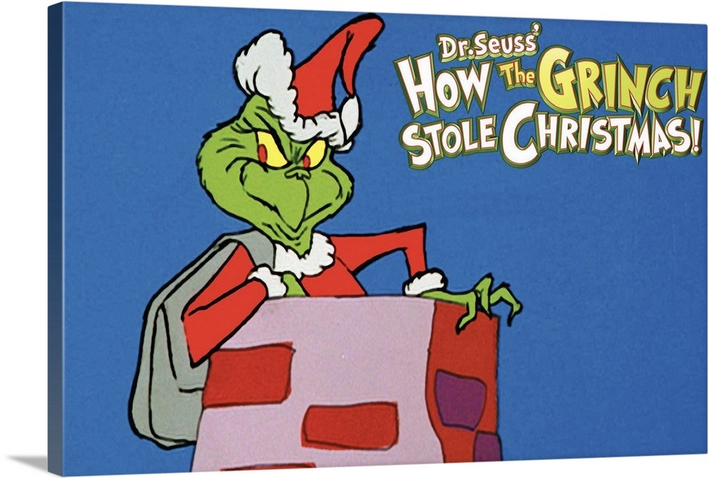 How the Grinch Stole Christmas (1966) Wall Art